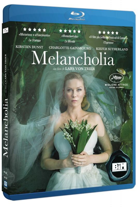 La copertina di Melancholia (blu-ray)