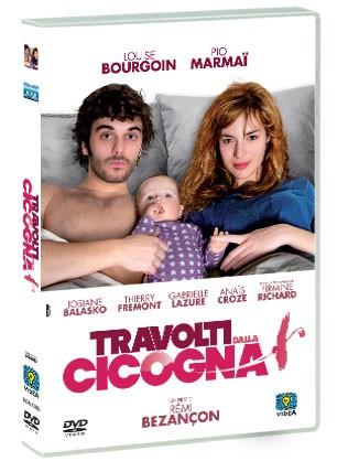La copertina di Travolti dalla cicogna (dvd)