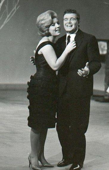 Sanremo 1960: Joe Sentieri con Wilma De Angelis
