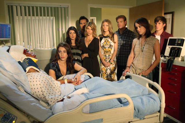 90210: una scena dell'episodio Til Death Do Us Part