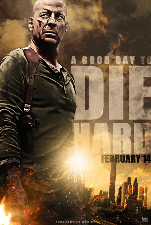 A Good Day To Die Hard: Character poster di Bruce Willis USA