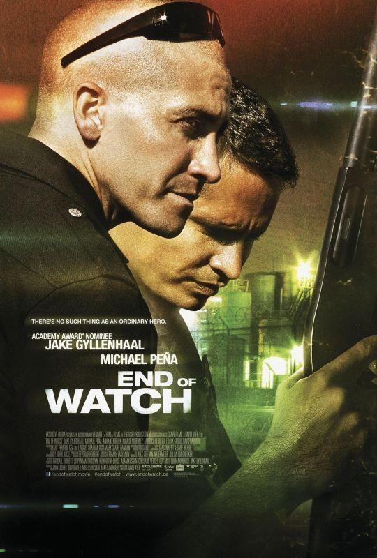End of Watch: uno dei poster internazionali del film