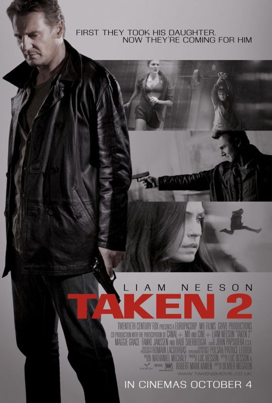 Taken 2: nuovo poster internazionale per il film