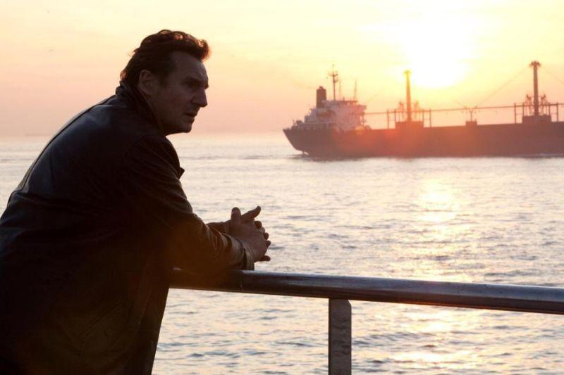 Taken: la vendetta, Liam Neeson in una scena del film