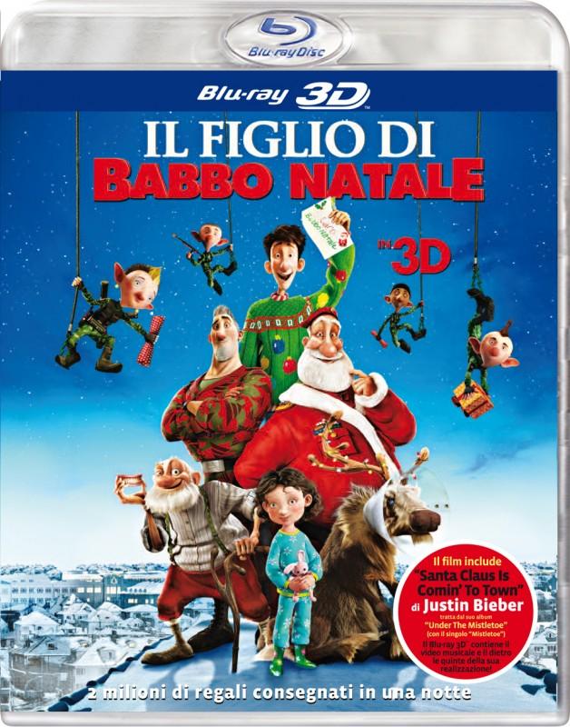 La copertina di Il figlio di Babbo Natale 3D (blu-ray)