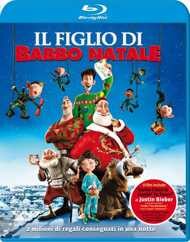La copertina di Il figlio di Babbo Natale (blu-ray)