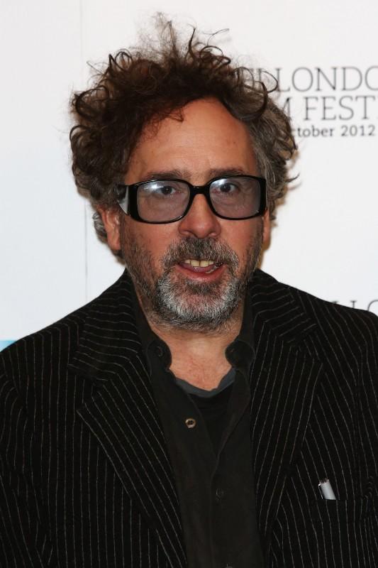 Un primo piano di Tim Burton, ospite del BFI London Film Festival con il suo Frankenweenie