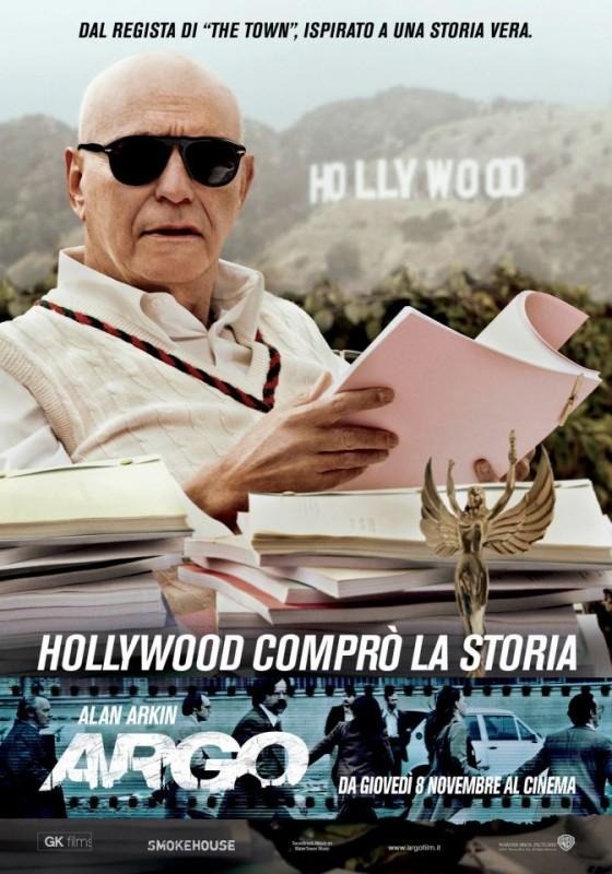Argo: character poster italiano del personaggio interpretato da Alan Arkin
