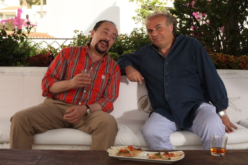 E io non pago: Maurizio Casagrande e Jerry Calà in una scena del film