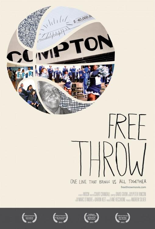 Free Throw: la locandina del film
