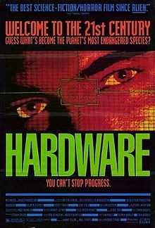 Hardware: la locandina del film