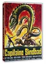 La copertina di Capitan Sinbad (dvd)