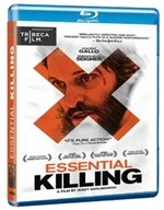 La copertina di Essential Killing (blu-ray)