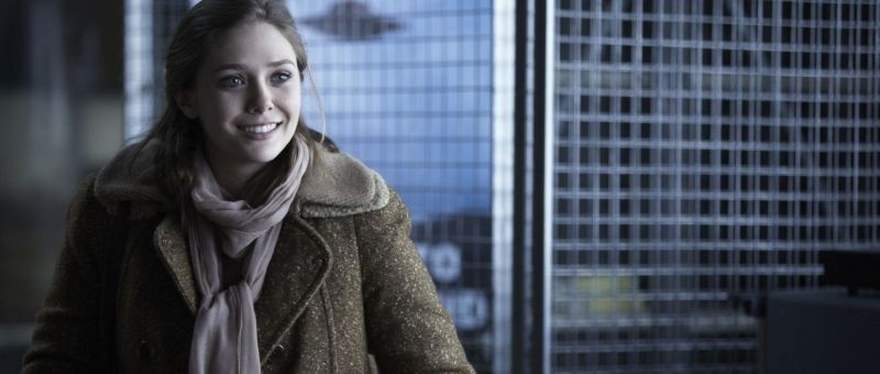 Red Lights: Elizabeth Olsen in una scena del thriller di Rodrigo Cortés