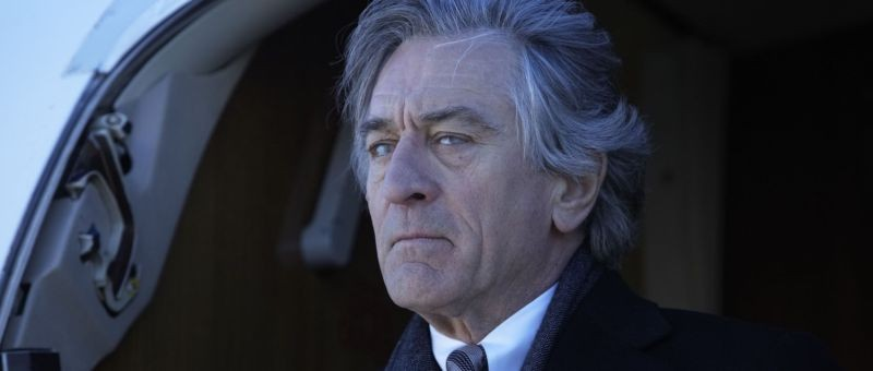 Red Lights: Robert De Niro, nei panni di un medium, in una scena del thriller di Rodrigo Cortés