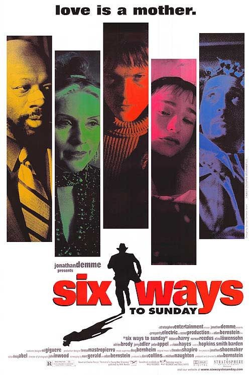 Six Ways to Sunday: la locandina del film