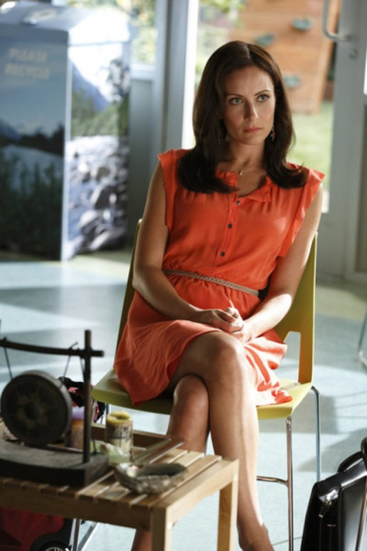 Go On: Laura Benanti nell'episodio There's No 'Ryan' in 'Team