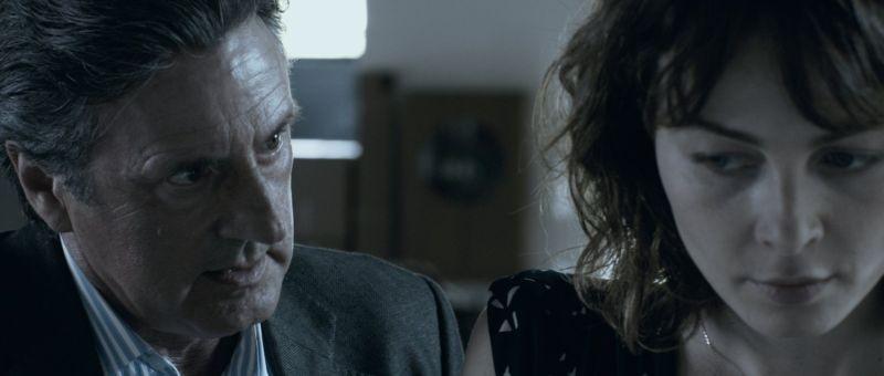 Il cecchino: Daniel Auteuil e Violante Placido in una scena del film