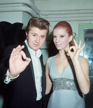 Sanremo 1969 - Iva Zanicchi e Bobby Solo