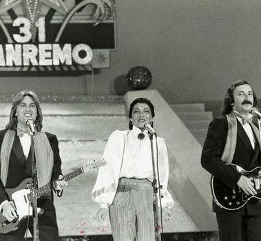 Sanremo 1980: i Ricchi e Poveri, per la prima volta senza Marina Occhiena, esclusa dal gruppo per contrasti con Angela Brambati