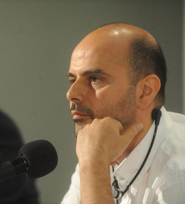 The last step: il regista e interprete del film Ali Mosaffa in una foto promozionale
