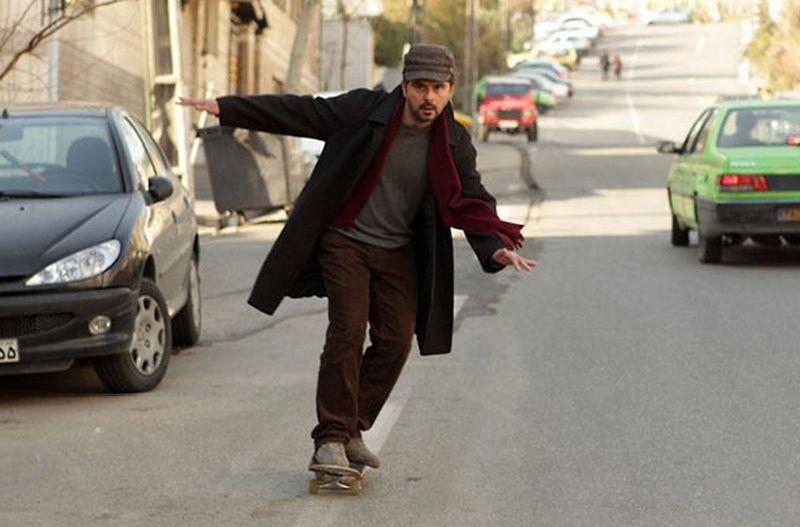 The last step: il regista e interprete del film Ali Mosaffa in una scena del film