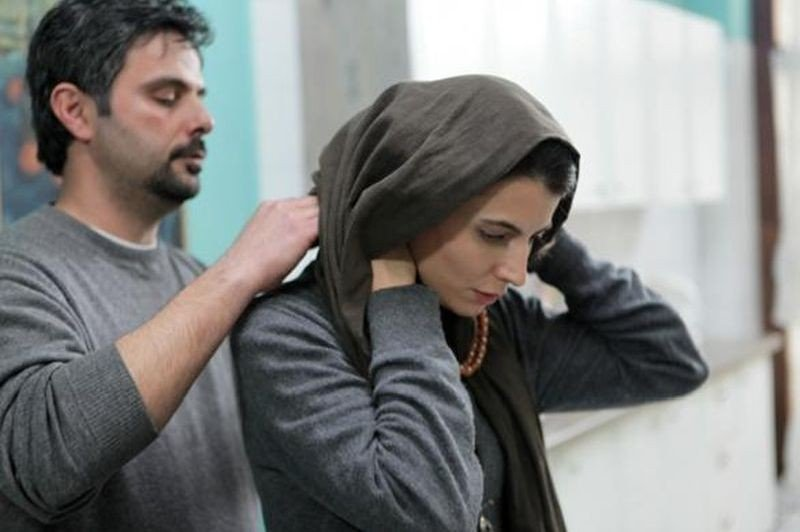 The last step: Leila Hatami e Ali Mosaffa in una scena