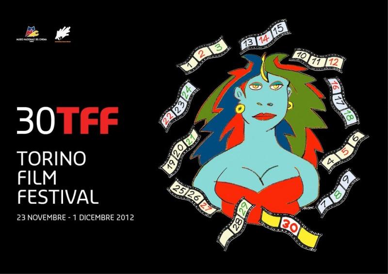 Torino Film Festival 2012: il poster della trentesima edizione che si svolgerà dal 23 novembre al 1° dicembre 2012