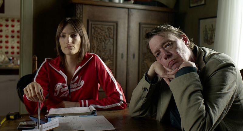 Un'estate da giganti: Gwen Berrou e Didier Toupy in una scena del film