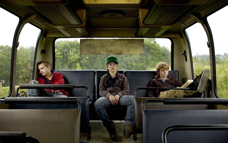 Un'estate da giganti: Paul Bartel, Martin Nissen e Zacharie Chasseriaud in una scena del film