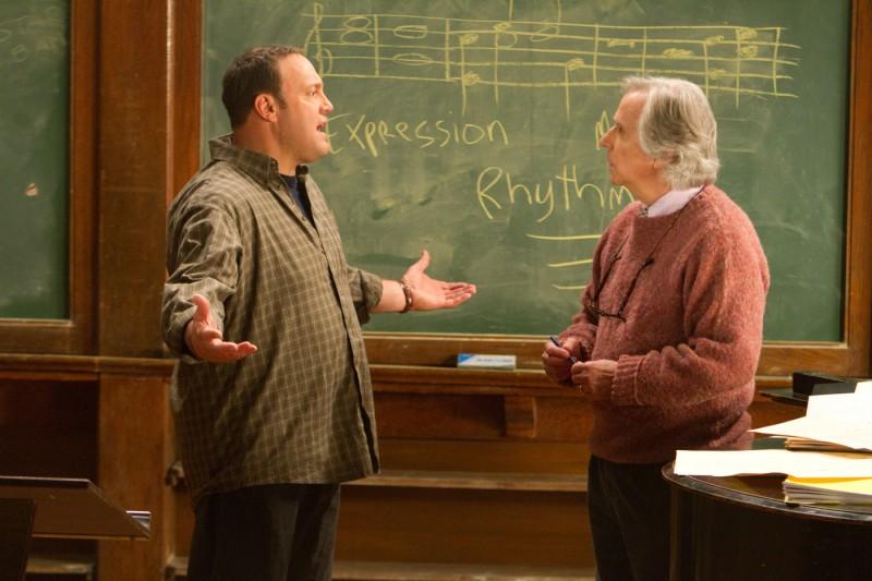 Kevin James ed Henry Winkler in Colpi da maestro, commedia del 2012