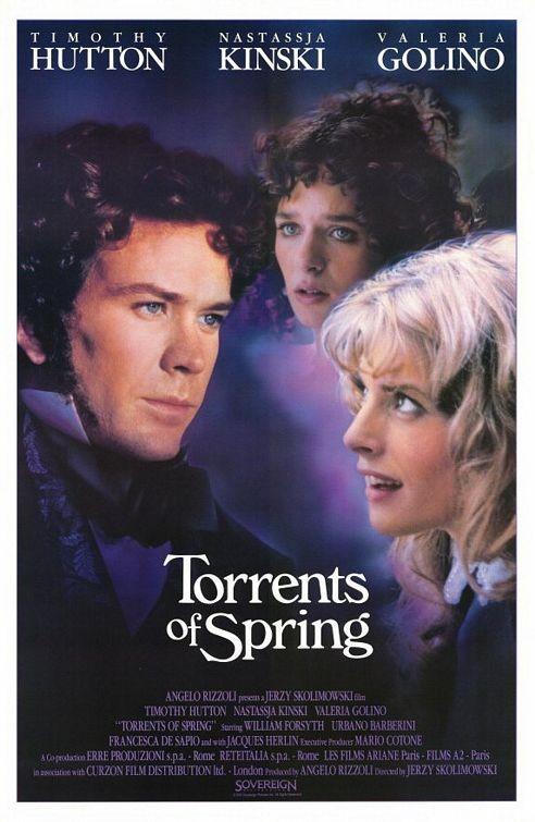 Acque di primavera: la locandina del film