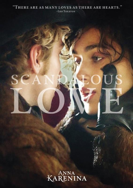 Anna Karenina: locandina Scandalous Love