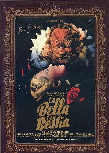 Copertina del DVD de La Bella e la Bestia (1946)