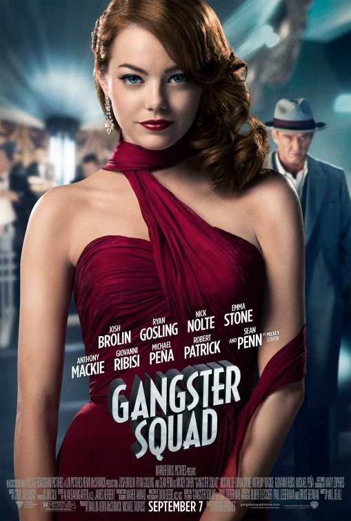 Gangster Squad: character poster per Emma Stone