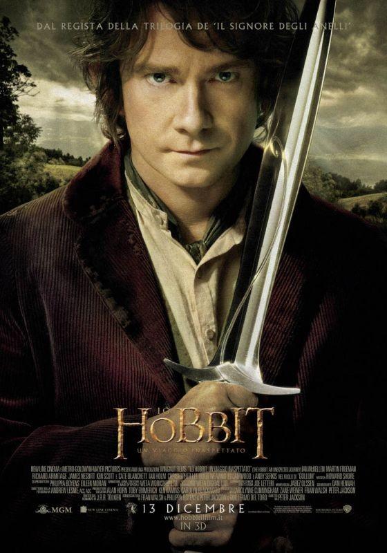 Lo Hobbit - Un viaggio inaspettato: character poster italiano di Martin Freeman, alias Bilbo Baggins