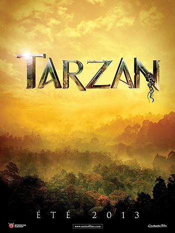 Tarzan 3D: il teaser poster francese
