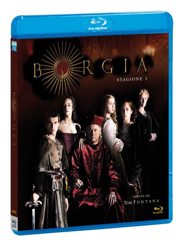 La copertina di I Borgia - Prima stagione (blu-ray)