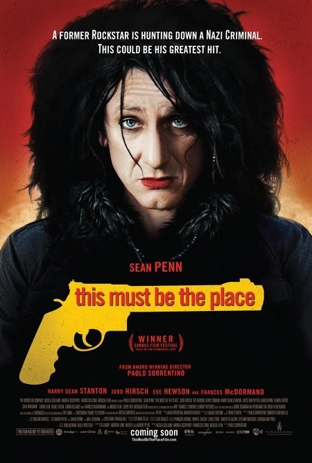 This Must Be the Place: poster USA