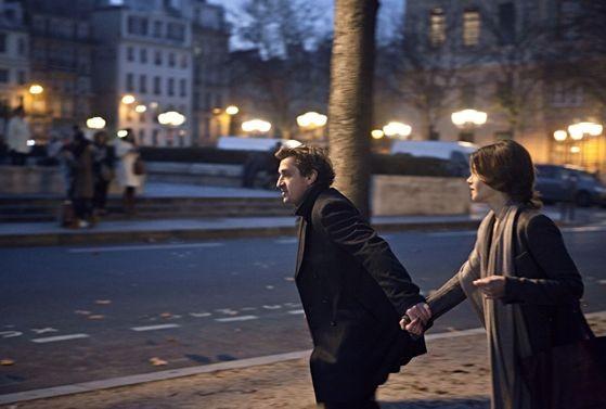 Valentina Cervi nel film Au Galop con Louis-Do de Lencquesaing