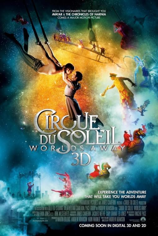 Cirque du Soleil: Worlds Away 3D: nuovo poster