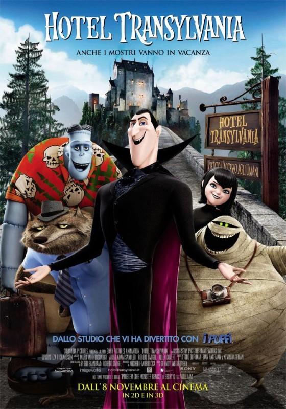 Hotel Transylvania: il nuovo poster italiano del film