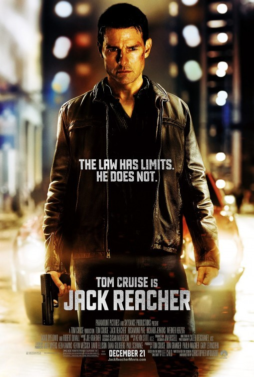 Jack Reacher: poster UK