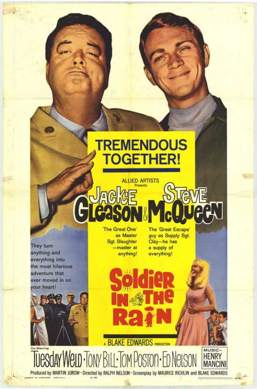 Soldato sotto la pioggia: la locandina del film