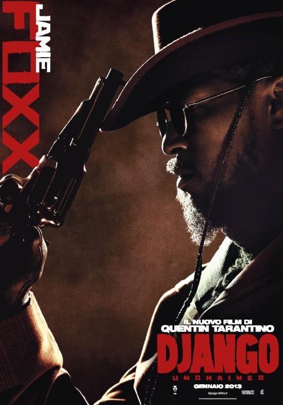 Django Unchained: il character poster italiano di Jamie Foxx