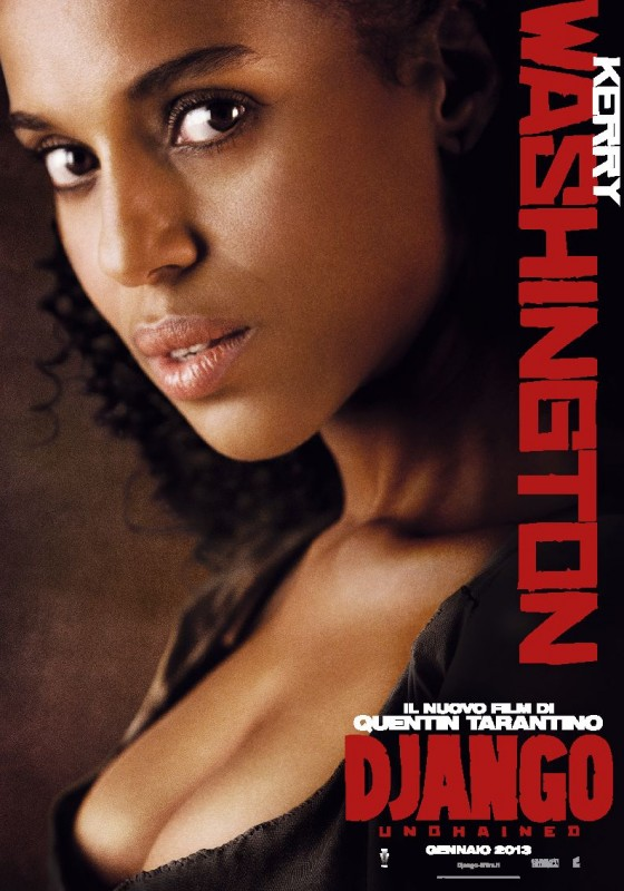Django Unchained: il character poster italiano di Kerry Washington