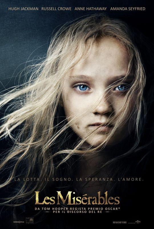 Les Misérables: il teaser poster italiano del film con Isabelle Allen