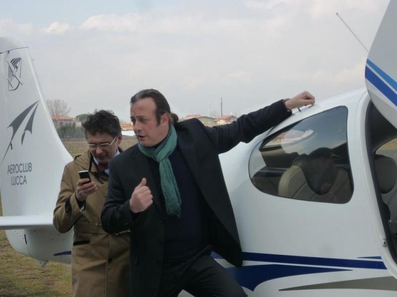 Sarebbe stato facile: il regista e interprete Graziano Salvadori in una scena