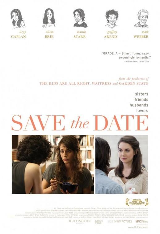 Save the Date: la locandina del film