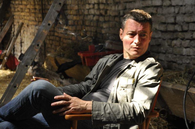 The Parade: il regista del film Srđan Dragojević sul set del film